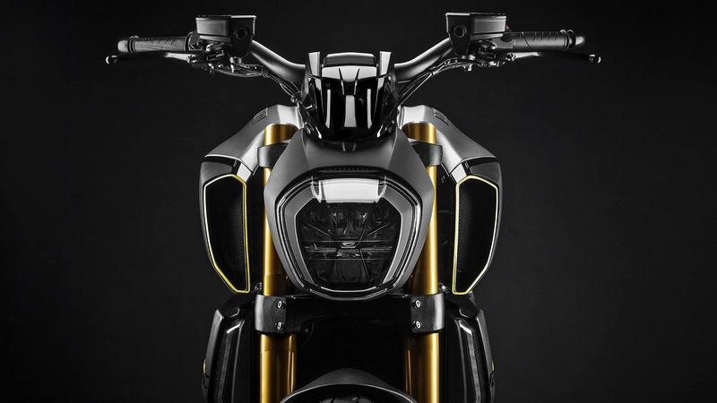 exclusive Ducati Diavel1260 S Materico concept bike built for Milan Design Week 2019-03