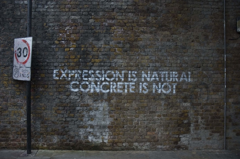 expression is natural