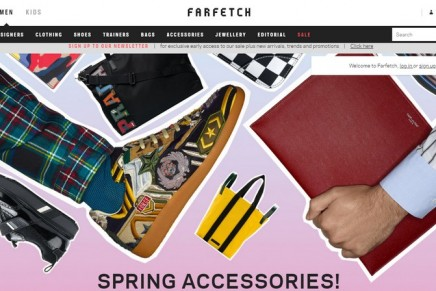 Farfetch unveils tie-up with Harvey Nichols before '£4bn IPO'