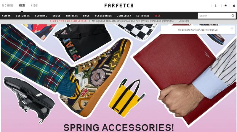 farfetch march 2018