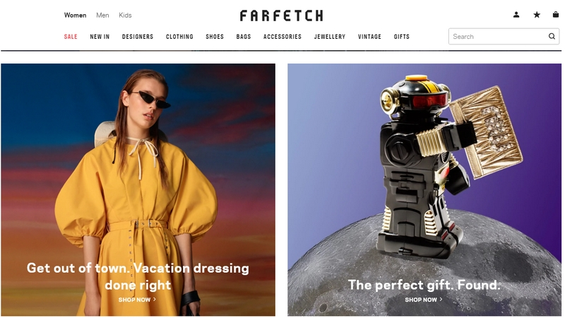 farfetch perfect gift