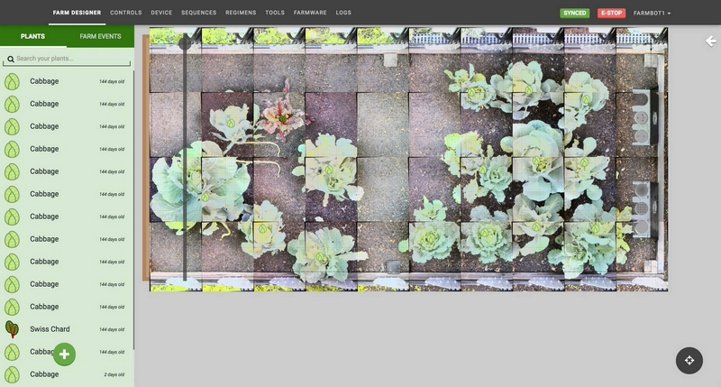 farmbot cabbage images
