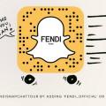 fendi snapchat logo