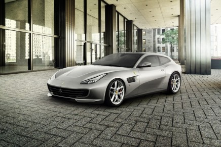 The new GTC4Lusso T – the first four-seater to sport a V8 engine