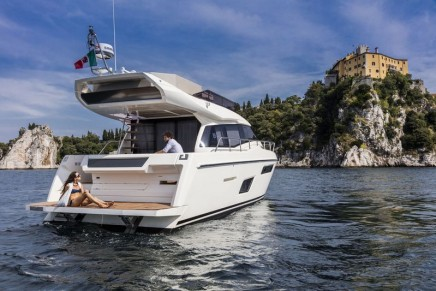 Ferretti Yachts 450 has all the right tools to captivate enthusiasts and owners