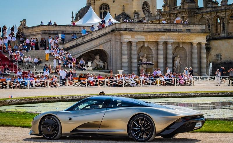fifth Chantilly Arts & Elégance Richard Mille - McLaren Speedtail 2018 - Best of Show Concours d'Elegance 2019