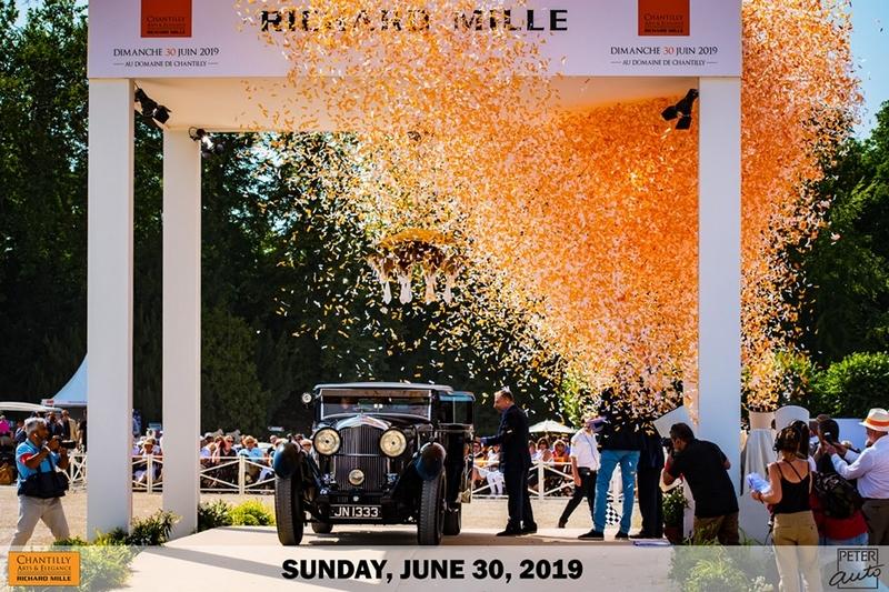 fifth Chantilly Arts & Elégance Richard Mille - Bentley 8 Litre Foursome Coupé (1931)
