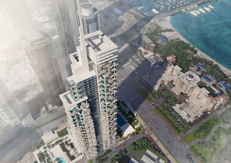first Roberto Cavalli hotel, located by Dubai's top attractions