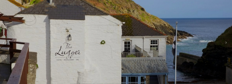 five-star Lugger Hotel in Cornwall