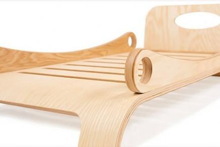 Environmentally-friendly furniture for kids: Flowerssori