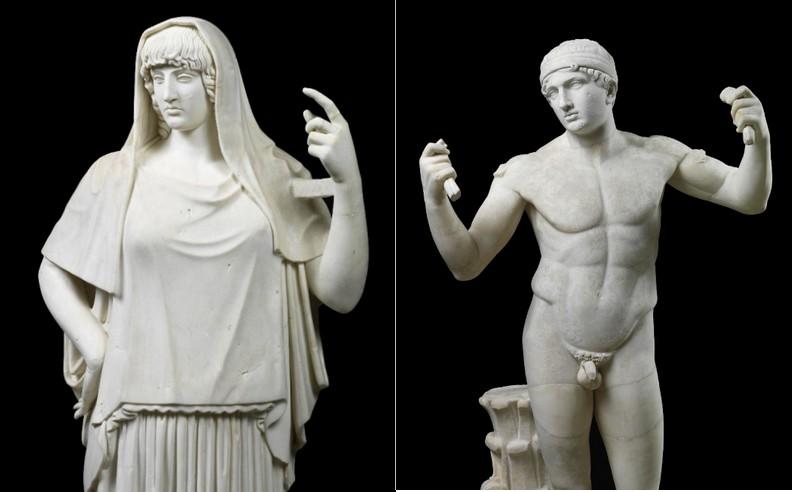 fondazionetorlonia Torlonia Collection statues