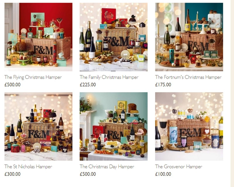fortnum & mason hampers christmas 2017