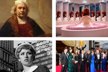 Selfie as art at the Saatchi: from Rembrandt to a grinning macaque