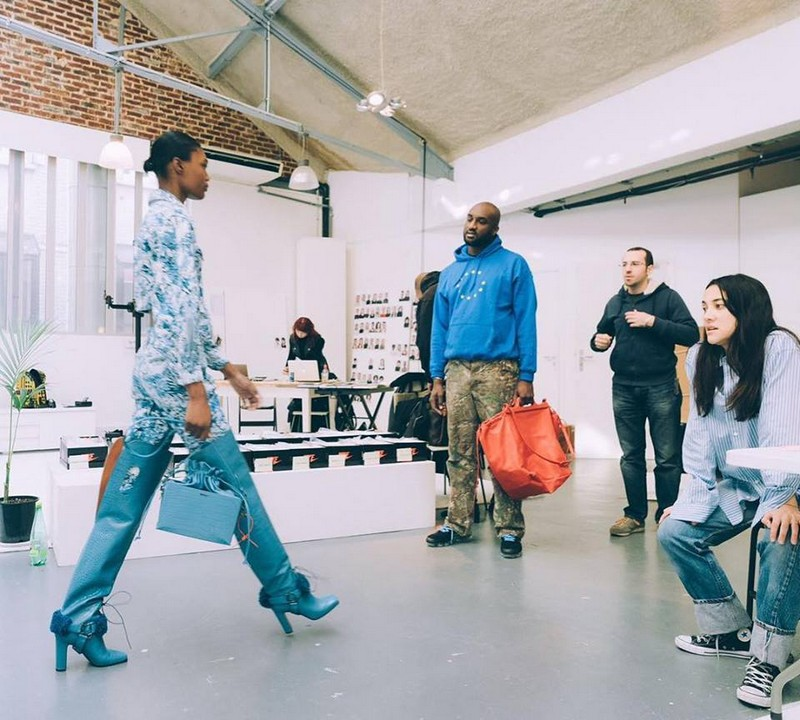 fw18 women's Off-White collection titled West Village prep day