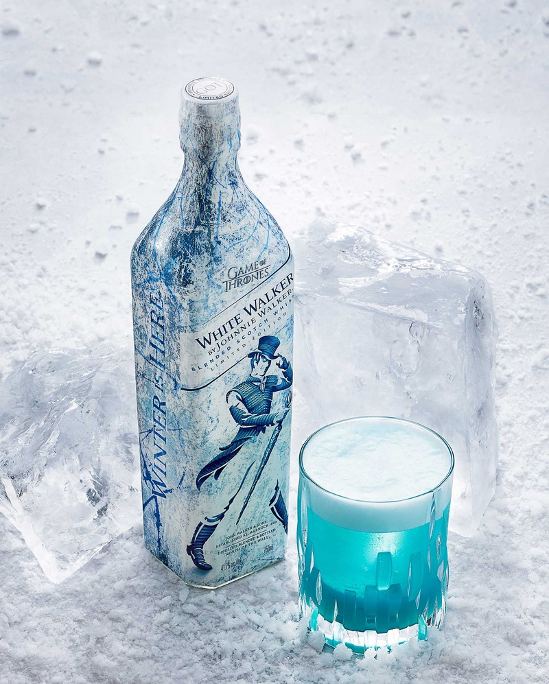 game of thrones whisky white walker-2018-specialty cocktails-