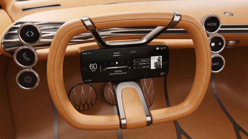 genesis mint concept - The Electric Luxury City Car 2019-01