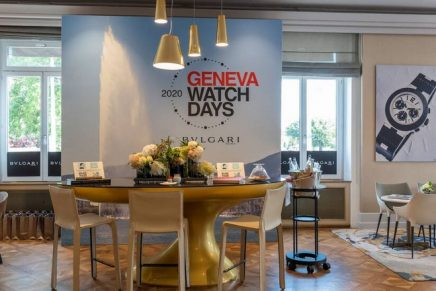 Geneva Watch Days – the watchmaking sector's only trade event in Switzerland in 2020