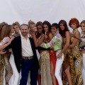 gianni versace and the most famous fashion models of the 90s