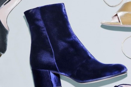 Velvet shoes will be the protagonists of this Fall season