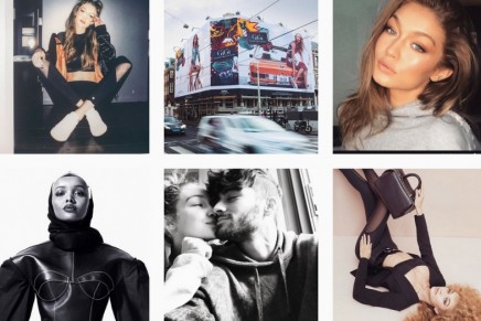 Gigi Hadid: a model with a fabulous figure – 30m followers