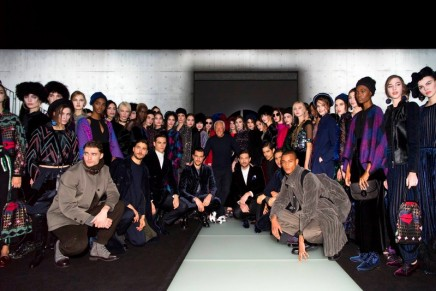 Giorgio Armani says his latest collection is an ode to coexistence