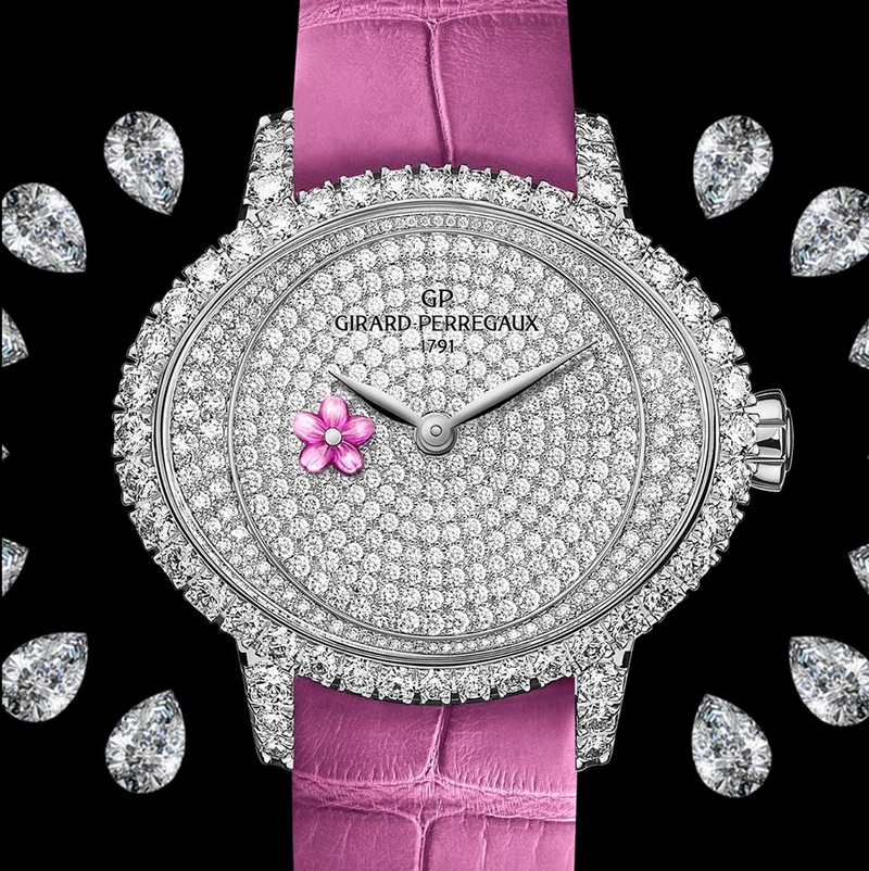 girard perregaux Cat's Eye Small Seconds-