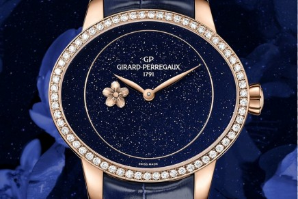 Girard Perregaux Cat's Eye Plum Blossom: the gleam of a flower glistening with morning dew