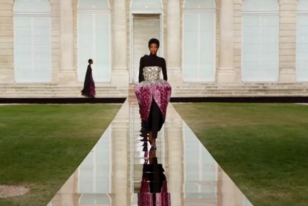 Clare Waight Keller's second Givenchy couture show celebrates its founder's legacy