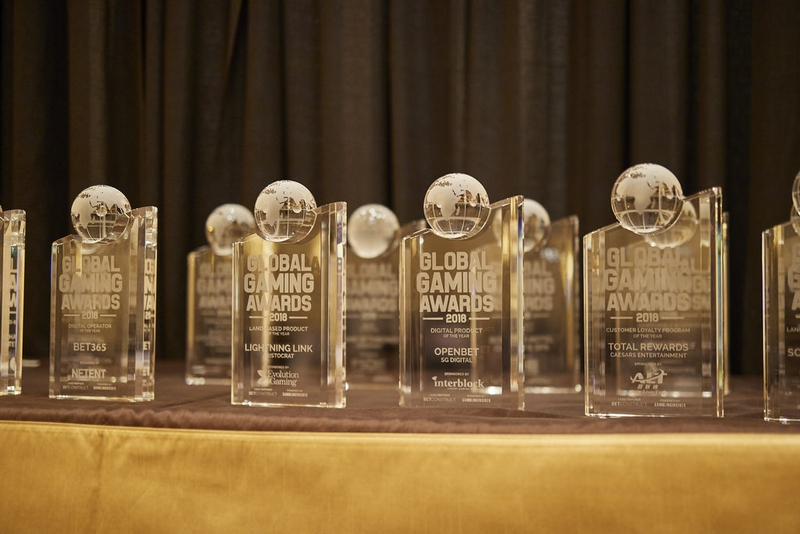 global gaming awards trophies