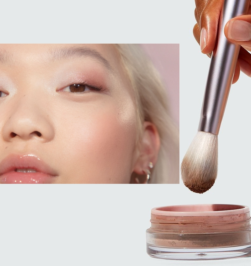 glossier makeup is a choice