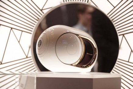 Devialet Gold Phantom with 4,500 Watts Of A/D Power
