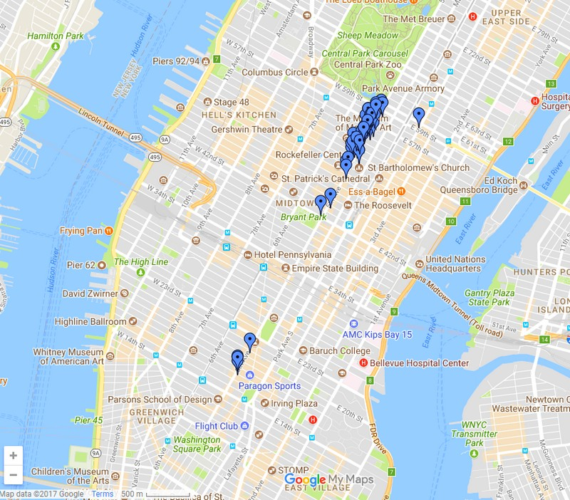 google maps 5thavenue