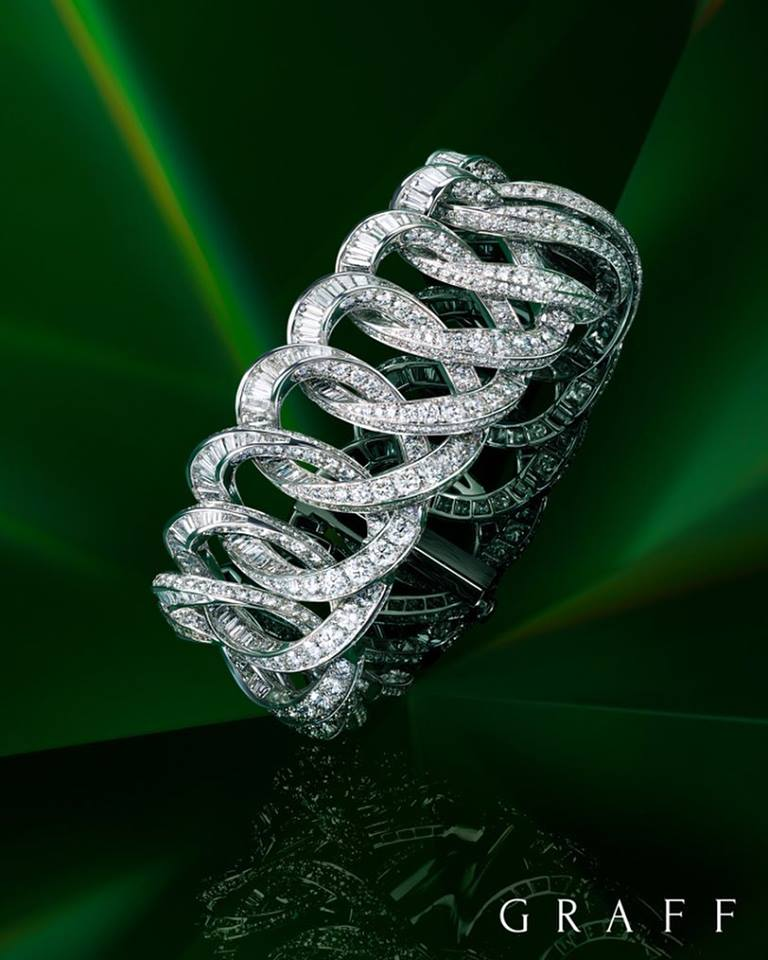 graff Diamonds for ladies 2019 Baselworld - Inspired by Twombly diamond bracelet, 60cts