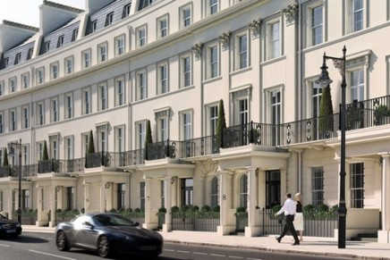 Grosvenor Crescent rated the most expensive street in England and Wales