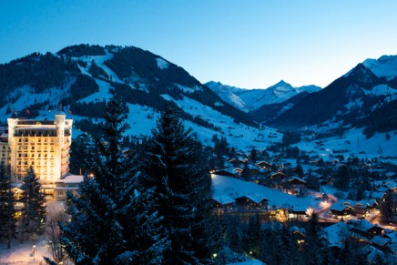 Pure Oxygen medical luxury cosmetics at Gstaad Palace Switzerland