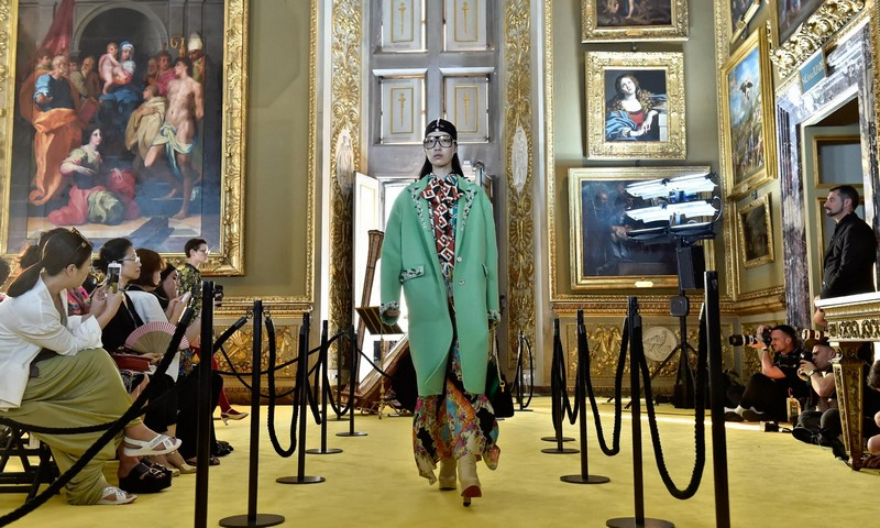 gucci cruise show 2018 florence italy
