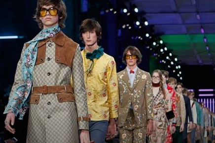 Milan fashion week: high-minded mix of old and new guides Gucci revolution