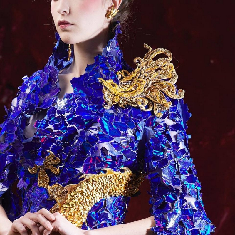 guo pei embroidery haute couture ss2019
