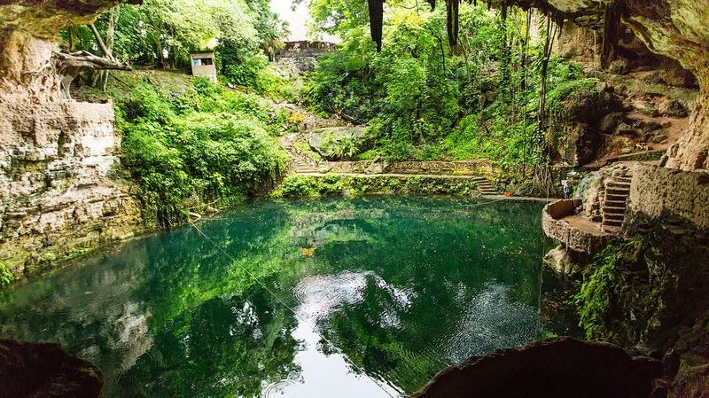 hacienda santa rosa Cenote de Zaci