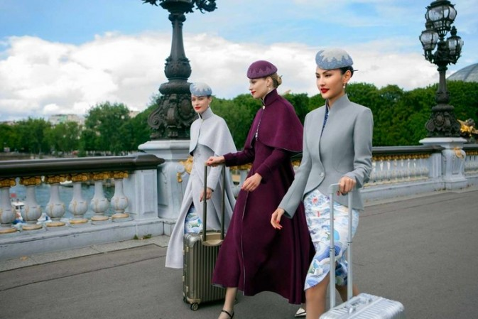 Hainan Airlines is taking uniforms to haute couture heights