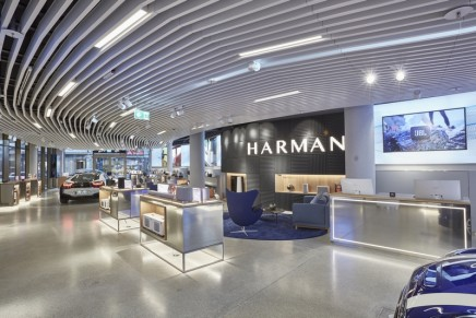 Luxury Audio Studio: Harman is opening first Experience Store in Europe