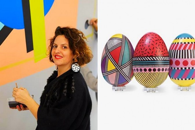 Artist Camille Walala elevates the Harrods Easter egg to striking new levels