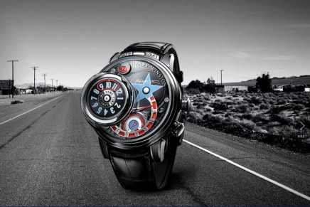 The magnificence of Swiss horology: Harry Winston Opus 14 takes its inspiration from a symbol of the 1950s: the jukebox.