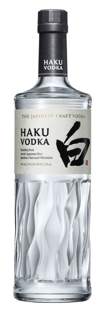 The House of Suntory introduces Haku Vodka exclusively in the U.S. in October 2018.