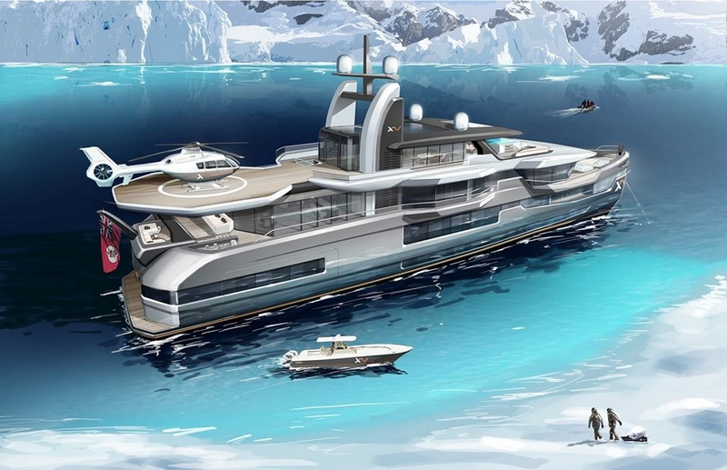 heeesen yachts hybrid propulsion