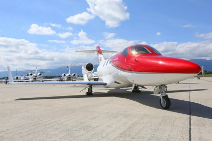 This is the most delivered jet during first half of the year