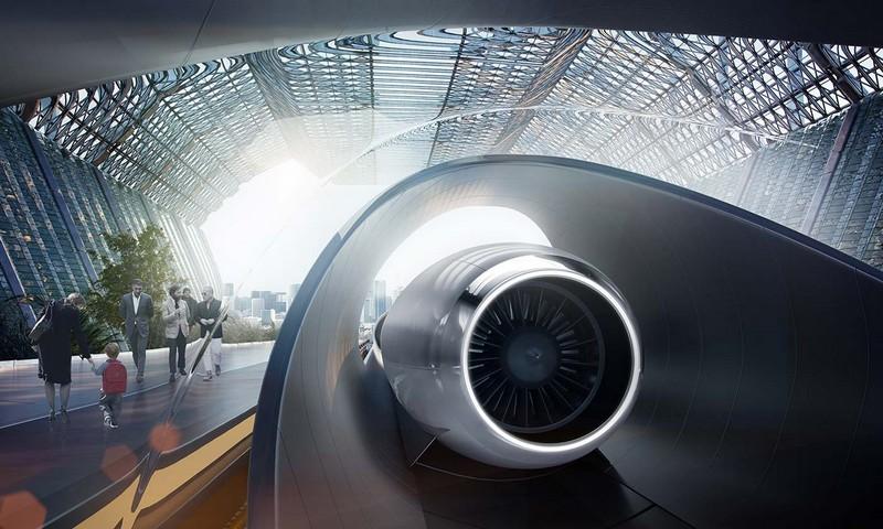 hyperloop renderings