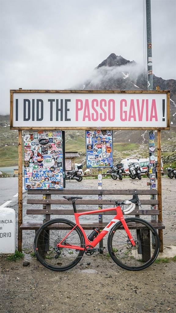 i did the passo gavia