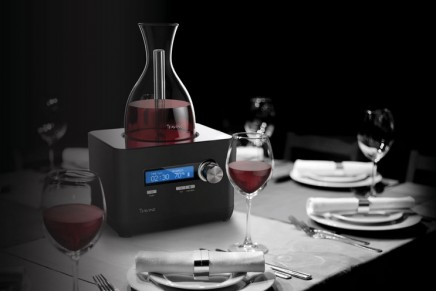 "Smart home devices: The first-ever ""smart decanter"""