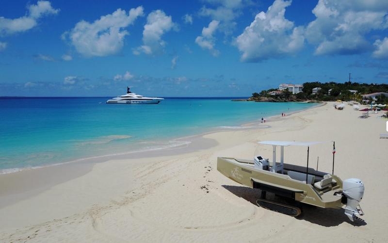 iguana yachts on sand